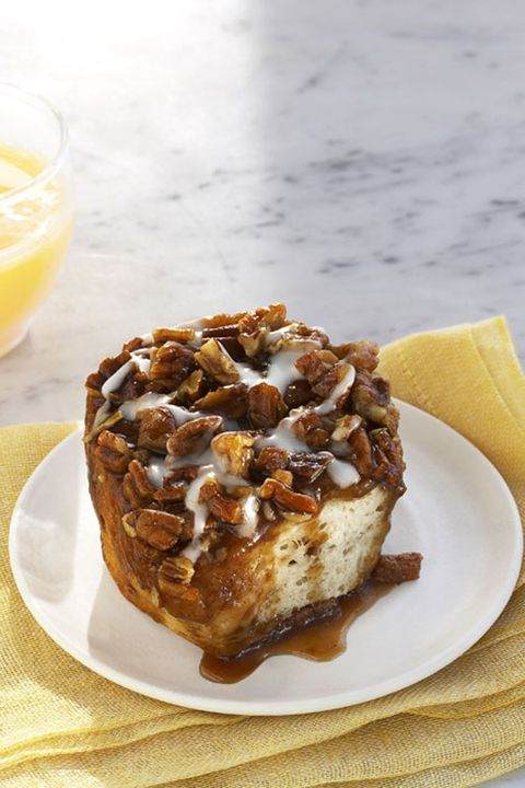 "<p>This cinnamon roll is slightly more healthy than the ubiquitous mall treat. But it smells every bit as heavenly—and tastes just as divine.</p><p><strong>Recipe</strong><span class=""redactor-invisible-space"">: <a href=""http://www.countryliving.com/food-drinks/recipes/a25756/caramel-pecan-sticky-buns-recipe-rbk0311/"" target=""_blank"">Caramel Pecan Sticky Buns</a><br></span></p>"