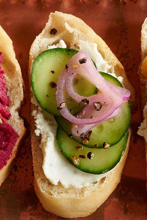 Food, Finger food, Ingredient, Cuisine, Canapé, Produce, Dish, Fast food, Snack, Leaf vegetable,