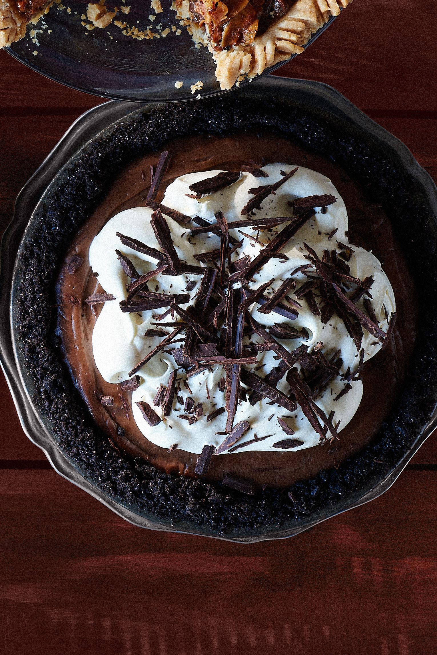 mocha chocolate cream pie recipe