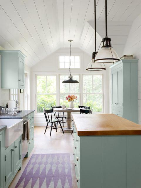 Room, Wood, Interior design, Floor, White, Flooring, Drawer, Furniture, Home, Countertop,