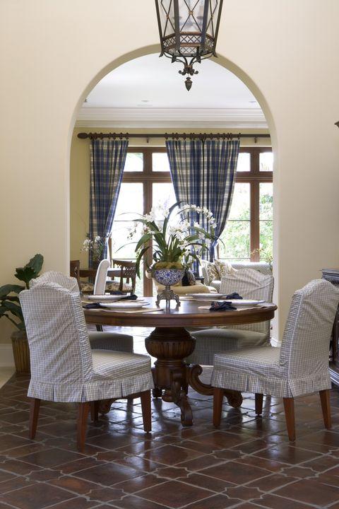Interior design, Room, Floor, Flooring, Furniture, Table, Ceiling fixture, Interior design, Light fixture, Home,