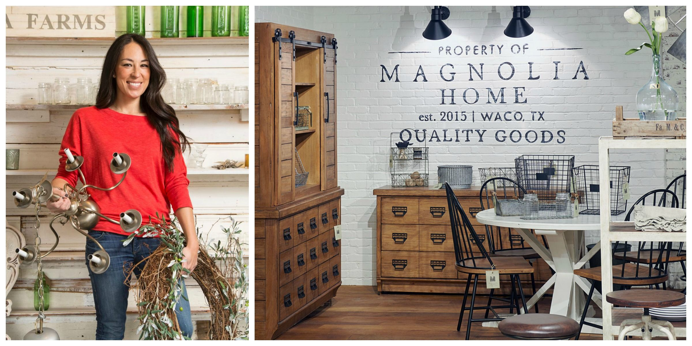Magnolia Home by Joanna Gaines Joanna Gaines First Home Furniture