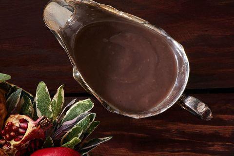 Sage-and-Pomegranate Juice Gravy