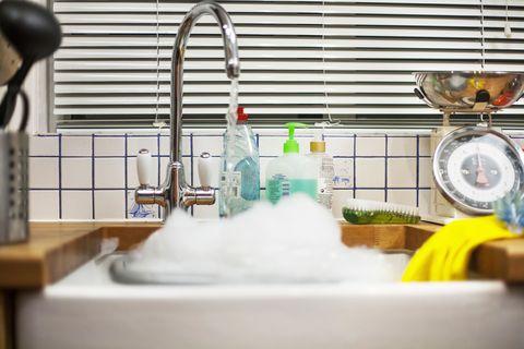 Fluid, Liquid, Plumbing fixture, Tap, Sink, Plumbing, Gas, Composite material, Bottle, Kitchen sink,