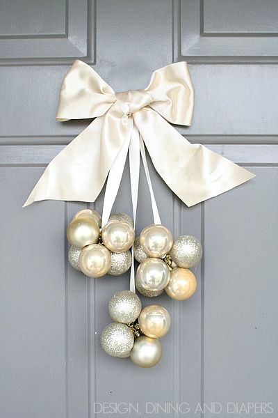 christmas ornament door decoration