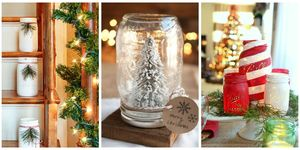 ways to use mason jars this christmas
