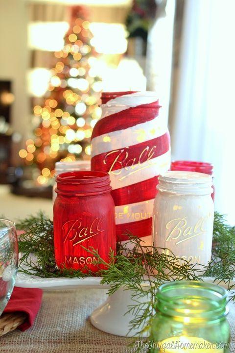 40 mason jar christmas crafts fun diy holiday craft projects