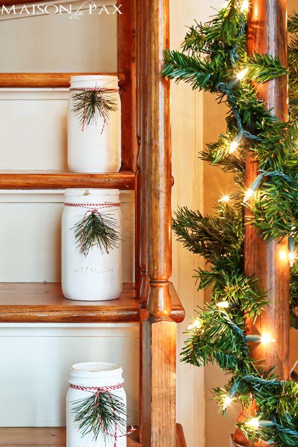 40 mason jar christmas crafts fun diy holiday craft projects solutioingenieria Images