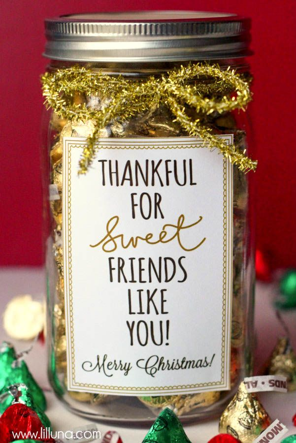 Mason jars christmas gift ideas