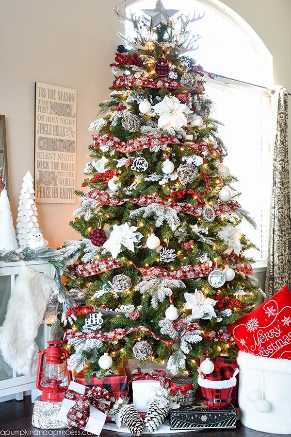72 best christmas tree decorating ideas how to decorate a christmas tree - Images Of White Christmas Trees Decorated