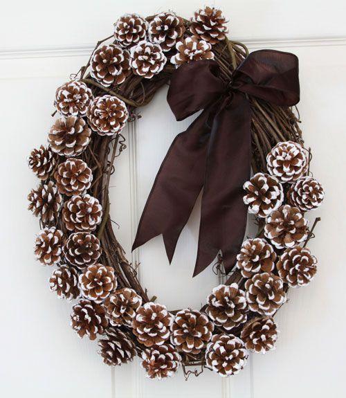 25 Pine Cone Crafts Diy Christmas Decorations Ornament Ideas