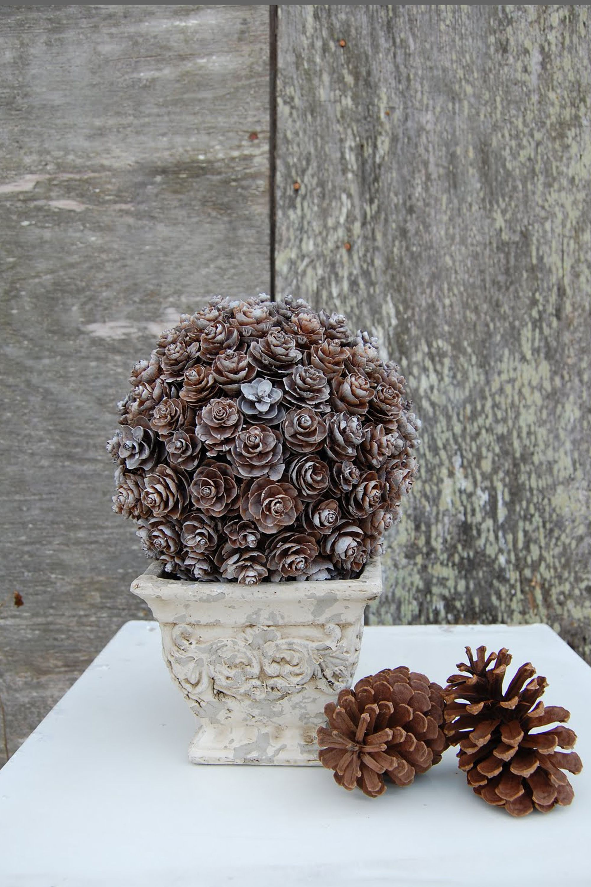 21 holiday pine cone crafts ideas for pinecone christmas decorations arubaitofo Gallery