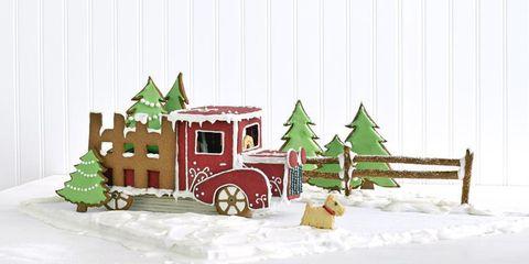 Winter, Window, House, Christmas, Art, Snow, Holiday, Fictional character, Christmas decoration, Home,