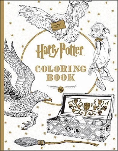 Courtesy Of Barnes And Noble Harry Potter Coloring Book