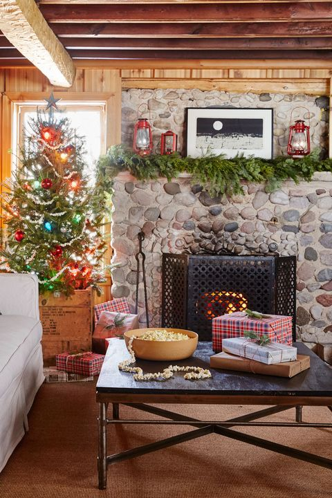 cabin christmas decor - Cabin Christmas Decor