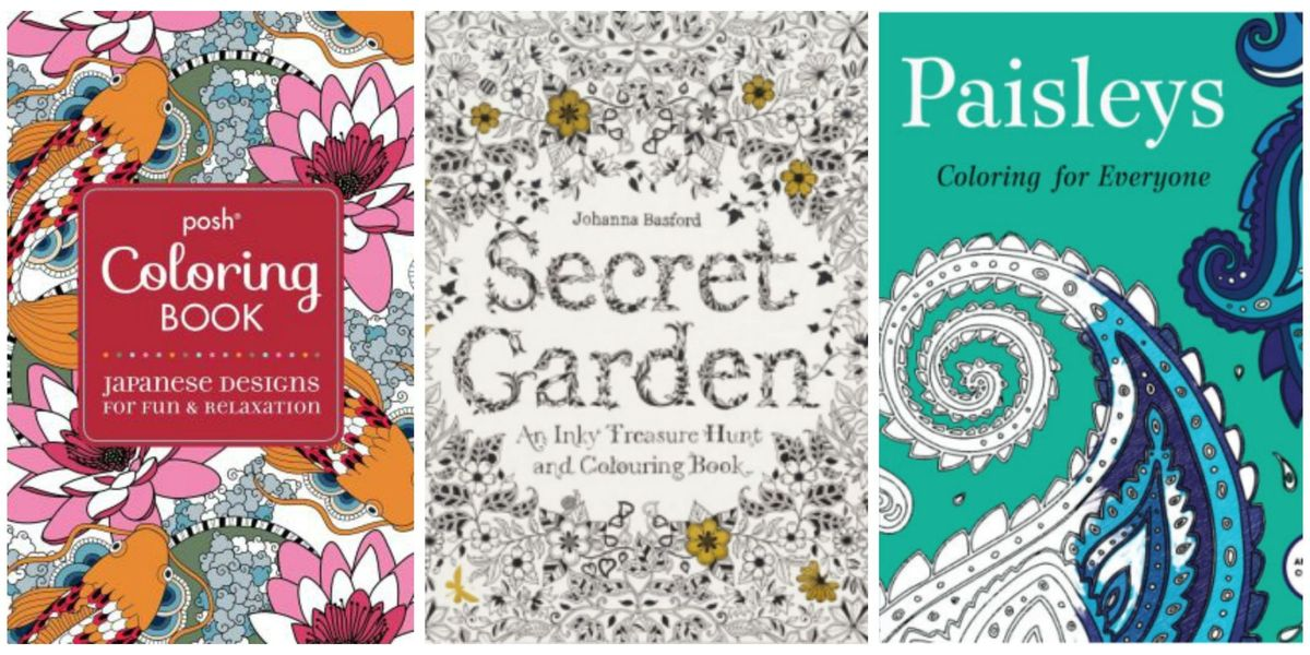 Adult Coloring Books Christmas Gift Guide
