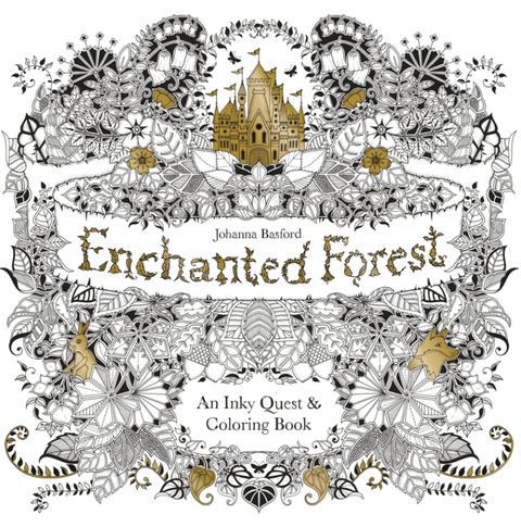 Image Courtesy Of Barnes And Noble Enchanted Forest An Inky Quest Coloring Book