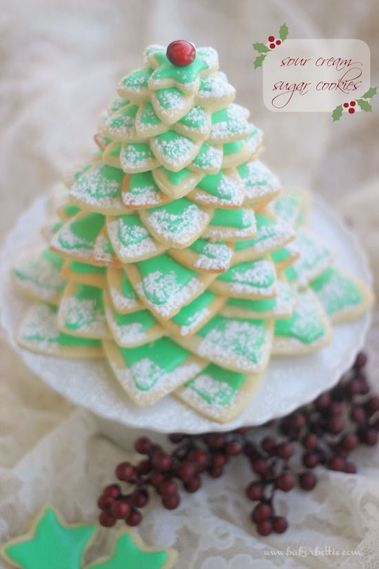 44 easy christmas sugar cookies recipes decorating ideas for holiday sugar cookies - Decorated Christmas Sugar Cookies
