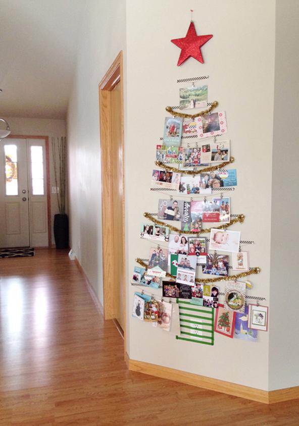 27 DIY Christmas Card Holder Ideas - How to Display Christmas Cards