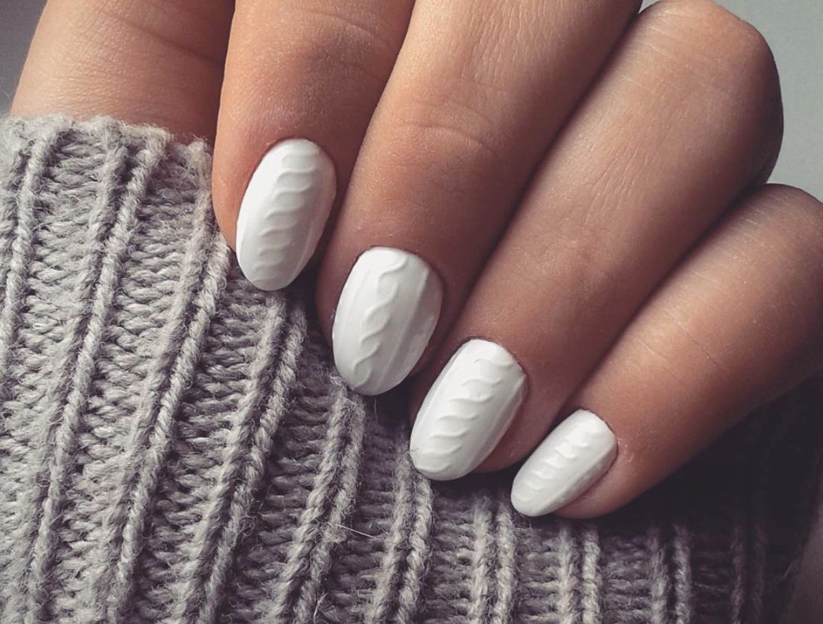 Sweater nail art how to get cable print nails prinsesfo Gallery