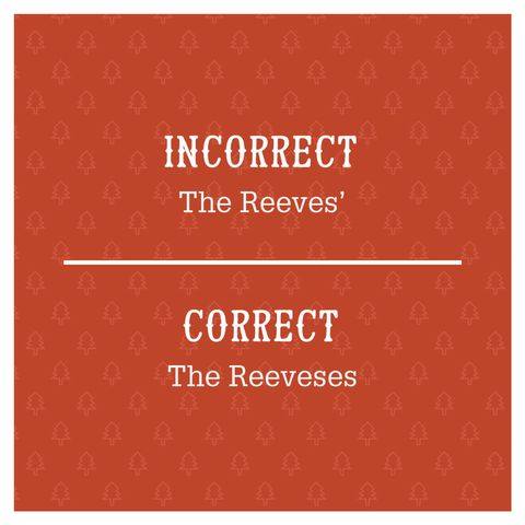 Most common grammar mistakes christmas cards image m4hsunfo