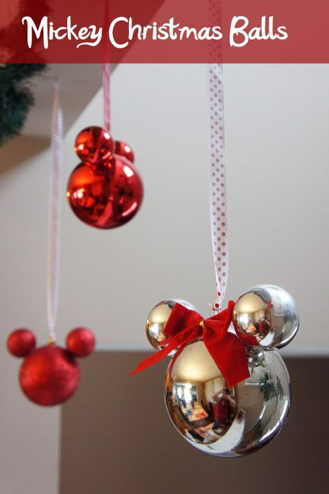 Mickey And Minnie Mouse Christmas Tree Decorations.25 Diy Disney Christmas Decorations Best Disney Christmas