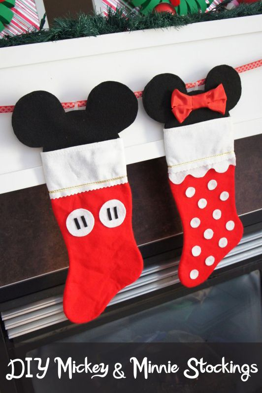20 disney christmas decorations diy disney christmas ornaments - Homemade Mickey Mouse Christmas Decorations