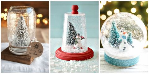 dreaming of a white christmas create your own little winter wonderland this year - Large Christmas Snow Globes