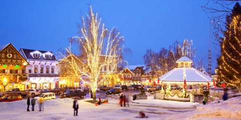 leavenworth washington christmastime - Small Town Christmas