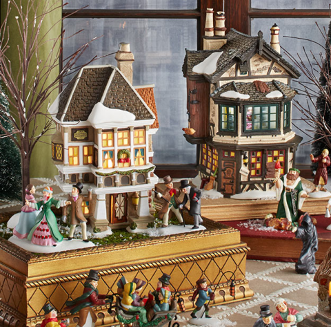 Department 56 Christmas Village Display.Department 56 Facts Things You Didn T Know About Department 56