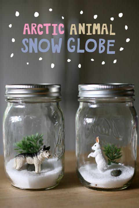 image courtesy of classic play arctic animals snow globe