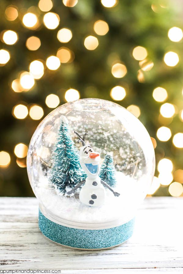13 DIY Snowglobes That Will Get You Excited For Christmas - How to ...