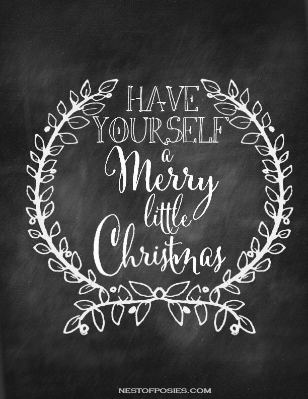 graphic regarding Printable Merry Christmas Sign referred to as 34 Free of charge Xmas Printables - Xmas Playing cards and Reward Tags