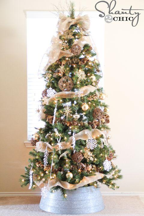 14 Burlap Christmas Decorations Rustic Christmas Decor