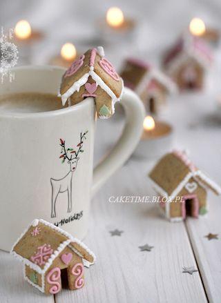 Mini Gingerbread Houses Edible Mini Gingerbread Houses