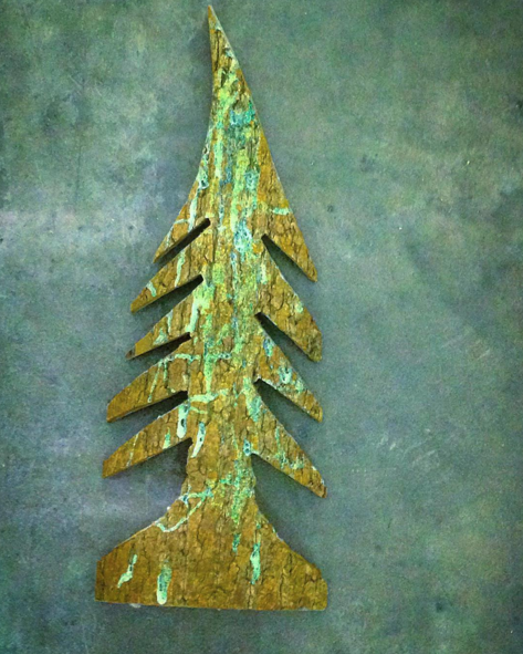 Teal, Christmas decoration, Aqua, Turquoise, Triangle, Natural material, Ornament, Christmas tree, Cone,