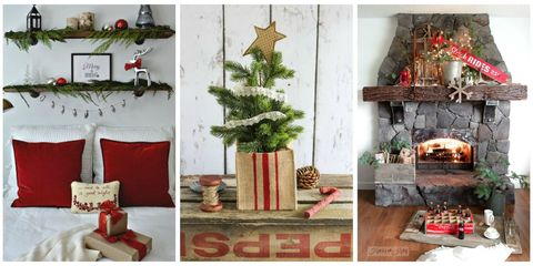 "Organized by Hometalk and Donna from Funky Junk Interiors, this year's ""Home for Christmas"" blog hop saw 165 bloggers sharing ultra-creative Christmas decor ..."
