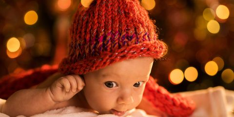 ec6760e9690b Knitted Christmas Outfits For Babies — Cute Baby Christmas Photos