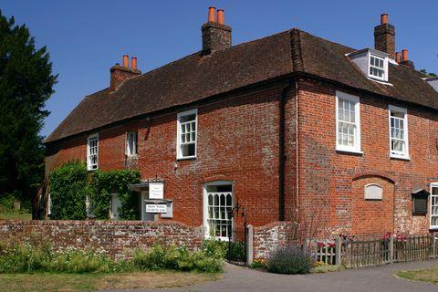 Window, Brick, Plant, Property, House, Brickwork, Real estate, Building, Roof, Home,