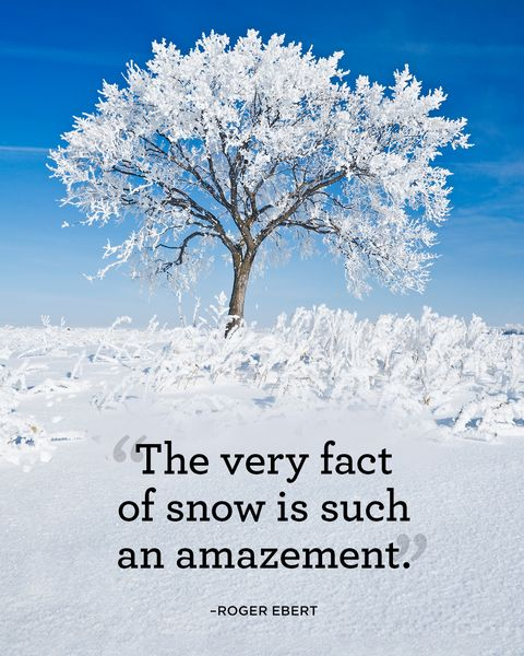 Winter Quotes: Snow Quotes You'll Love