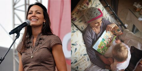 Joey Martin Feek with daughter Indiana