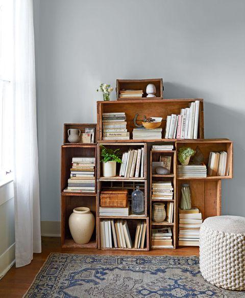 Wood, Room, Interior design, Shelving, Shelf, Flooring, Floor, Hardwood, Home accessories, Wood stain,
