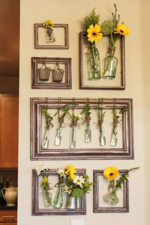 Picture Frame Crafts - How to Repurpose Picture Frames