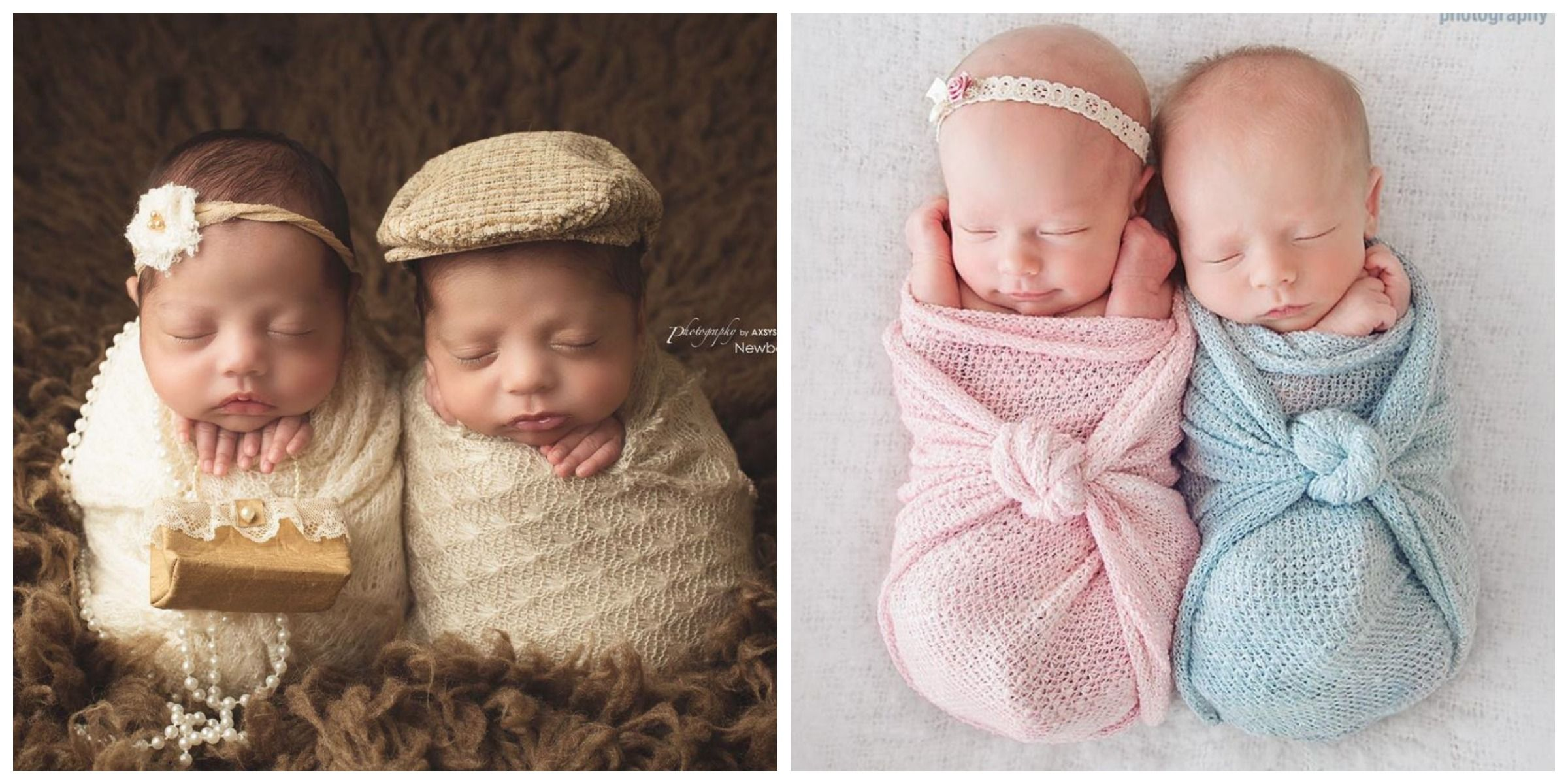 038d80d9b16c Twin Newborn Photography — Cute Baby Photos of Twins