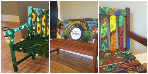 Wood, Hardwood, Wood flooring, Laminate flooring, Wood stain, Rectangle, Design, Visual arts, Creative arts, Plank,