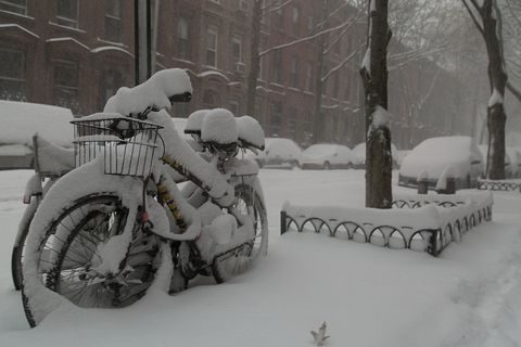 Winter, Freezing, Window, Automotive tire, Snow, Fender, Blizzard, Winter storm, Precipitation, Auto part,