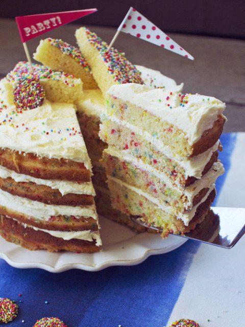 fairy bread cake