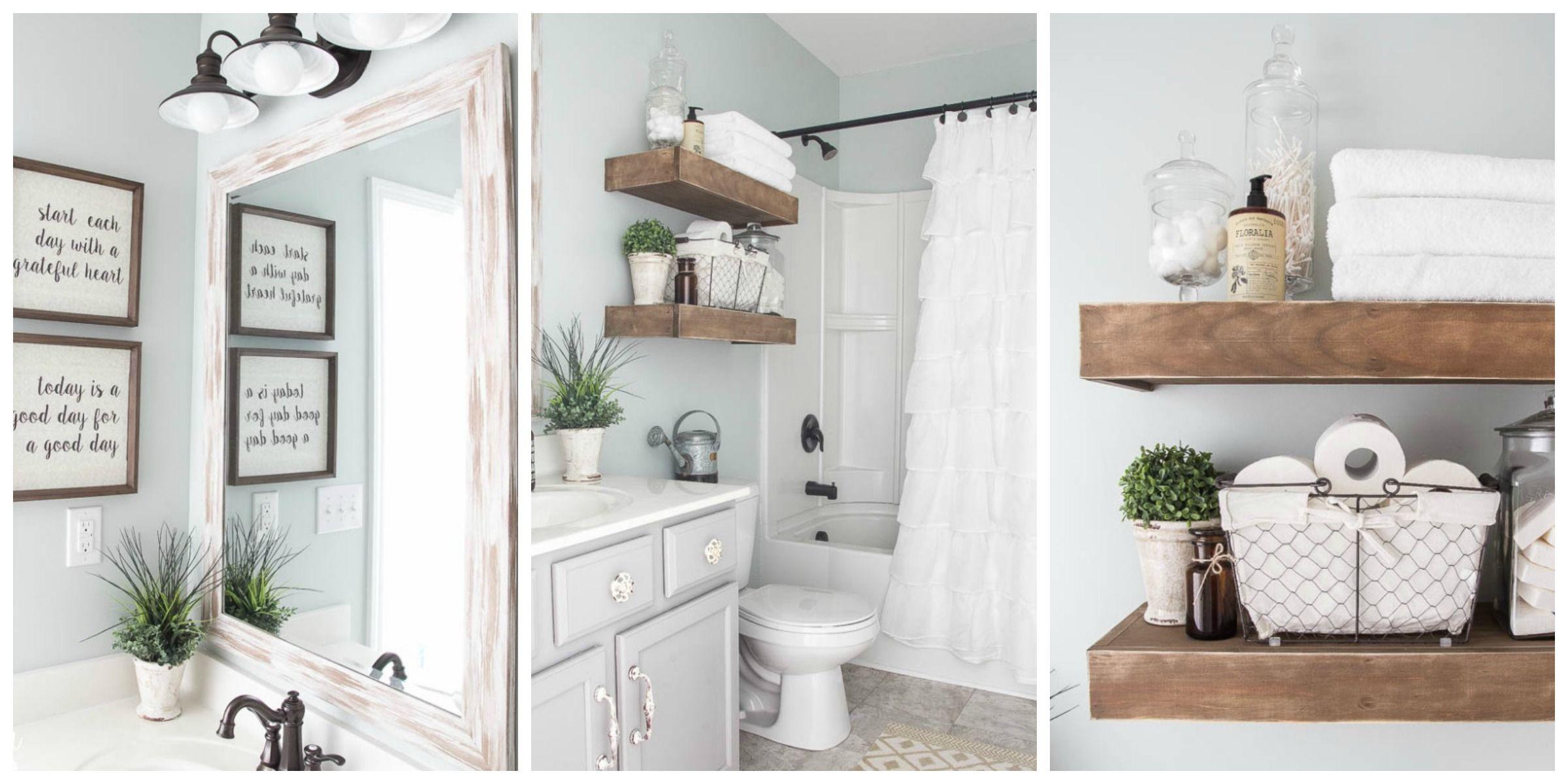 Farmhouse Bathroom Renovation Ideas - Bless\'er House Blog Bathroom ...