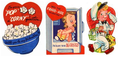 16 Vintage Valentines Day Cards Funny Antique Valentines Country