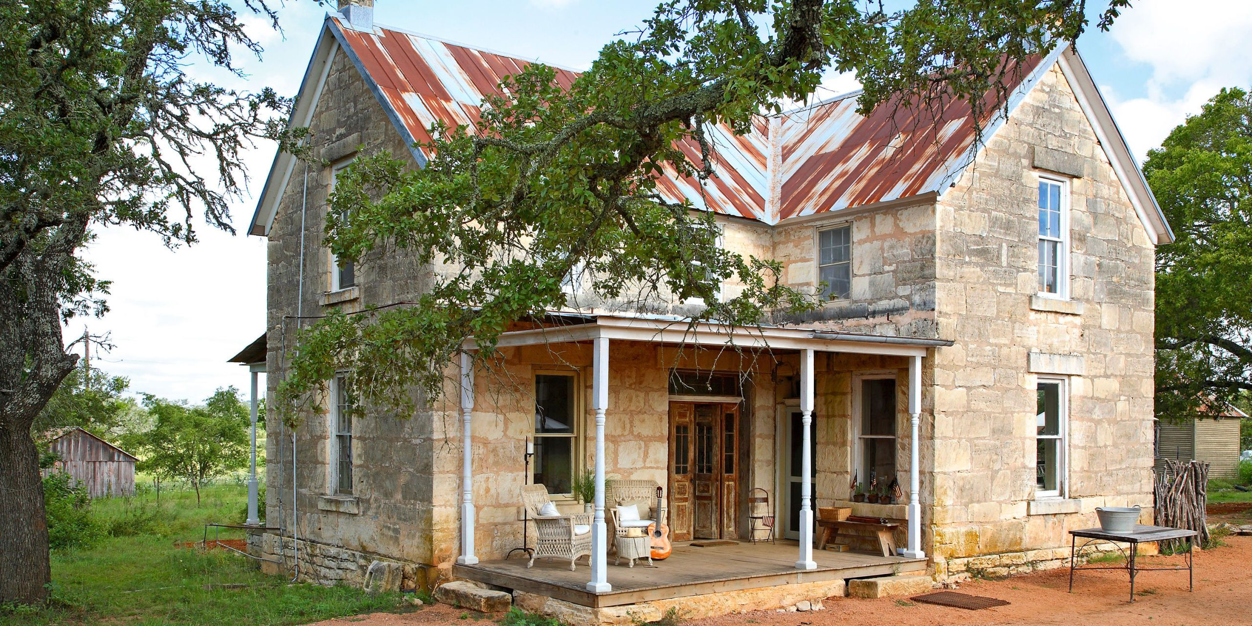When A Couple Took On The Renovation Of A Unique Home In The Texas Hill  Country They Found Some Unexpected Delights.